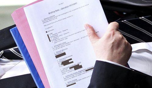 The not-so-secret document.
