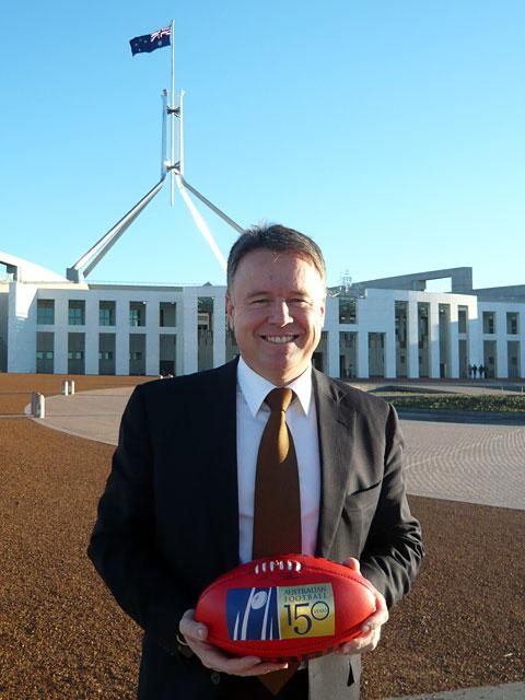 Joel Fitzgibbon - using professional sport as his backup to politics