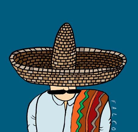 Artist's depiction of the Mexican Thief.