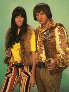 Gem and Brad in their weekend attire.